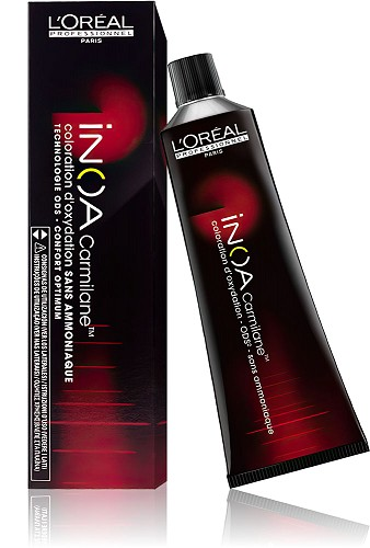 loreal inoa carmilane 666 60 ml - Coloration Rouge Sans Ammoniaque