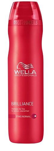 wella shampoing care brilliance 250 ml - Shampoing Wella Cheveux Colors