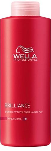 wella shampoing care brilliance 1000 ml - Shampoing Wella Cheveux Colors