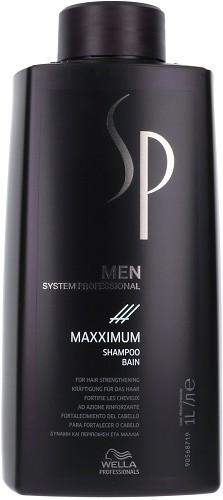 wella sp shampoing maxximum pour hommes 1000 ml shampoing fortifiant pour des cheveux qui. Black Bedroom Furniture Sets. Home Design Ideas