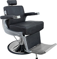 "Hairway Fauteuil Barbier ""David"" Noir"
