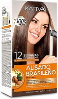 Kativa Kit de Lissage Brazilian Keratin 225 ml
