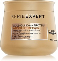 Loreal Absolut Repair Gold Masque Doré Restructurant 250ml