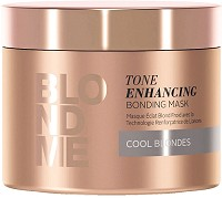Schwarzkopf BlondMe Masque Éclat Blond Froid 200 ml