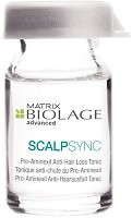 Matrix Biolage ScalpSync Aminexil Traitement anti chute 10x6 ml