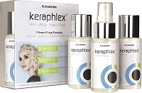 Keraphlex Traitement Cheveux Power-Pack 3x50 ml
