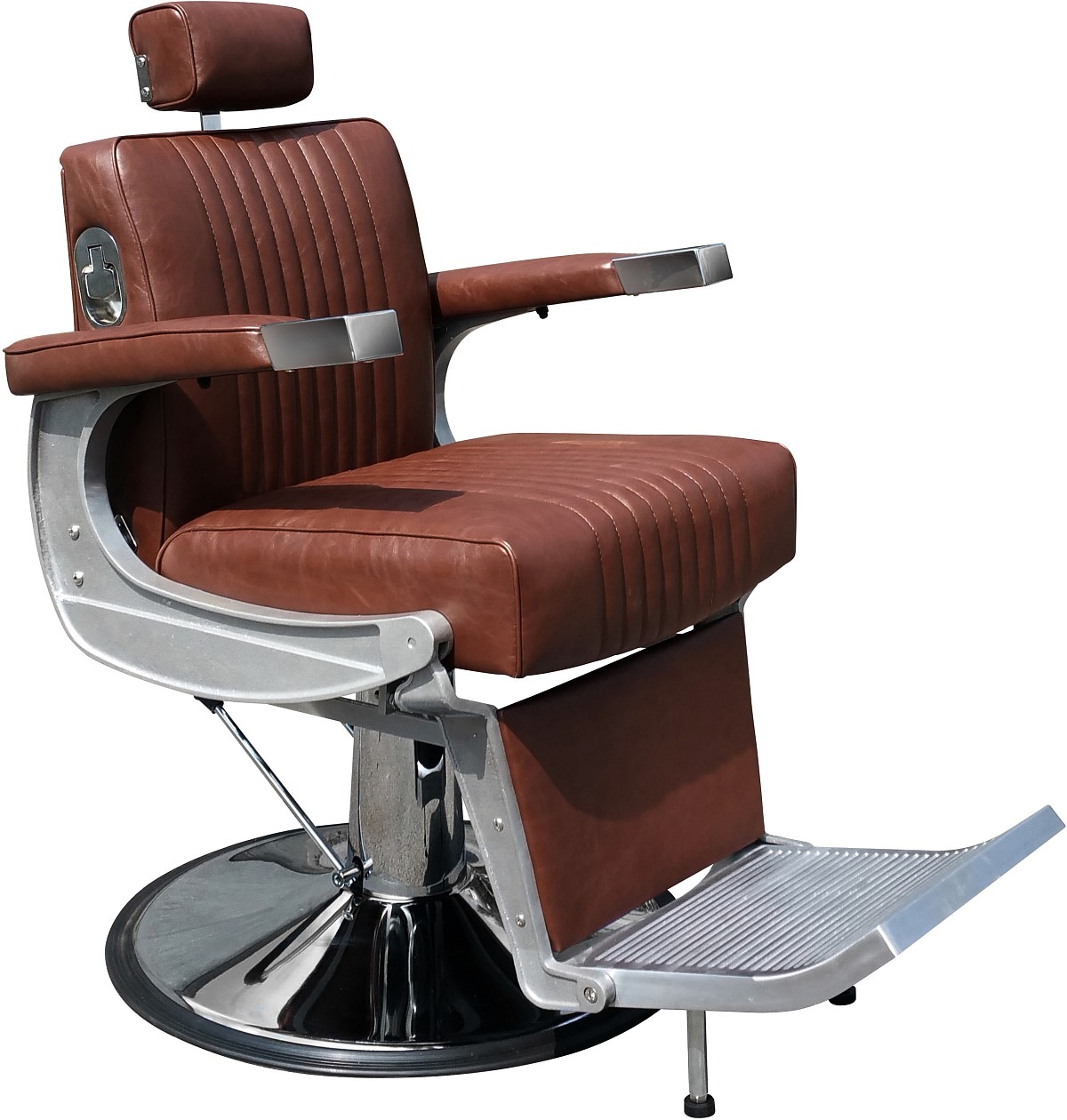 "Hairway Fauteuil barbier ""David"" Marron"